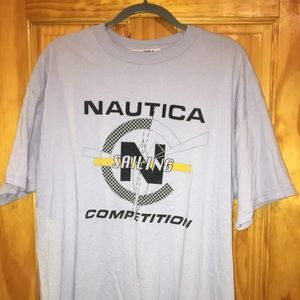 Nautical Sailing Competition Tee